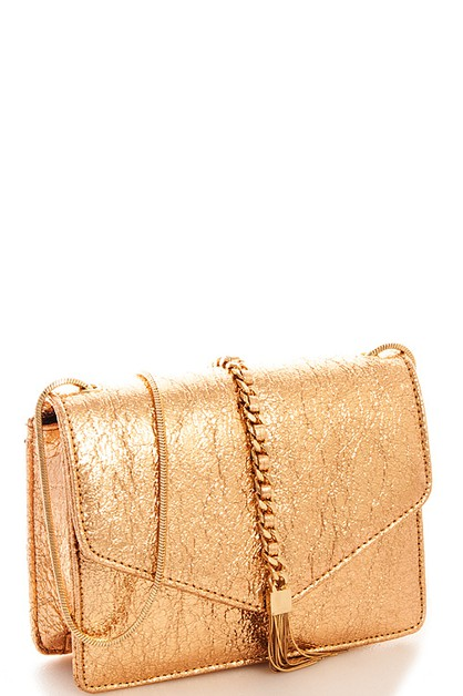 Chic Glossy Crossbody - orangeshine.com