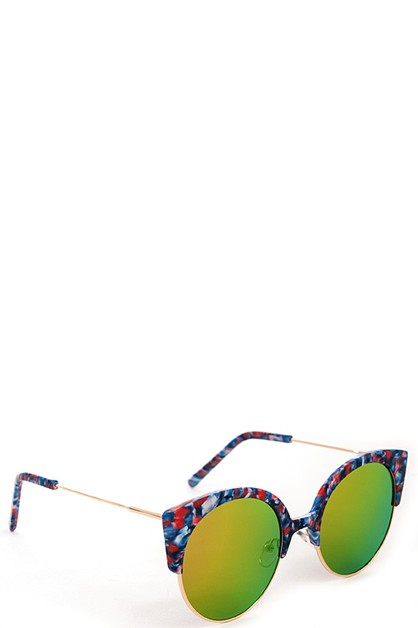 Fashion Multi Color Sunglasses - orangeshine.com