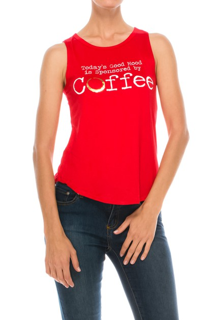 Coffee Graphic Tee - orangeshine.com