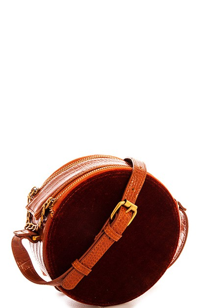 Cute Round Shape Crossbody - orangeshine.com