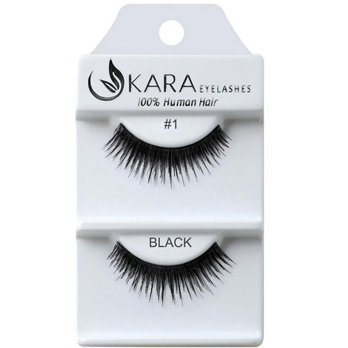 Kara Human Hair Eyelashes - orangeshine.com