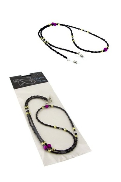 Fashion Bead Eyeglass Chain Holders - orangeshine.com