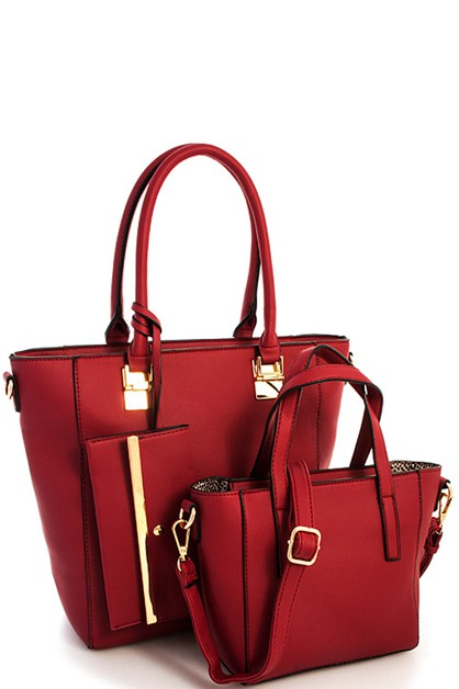 3in1 Designer Princess Satchel  - orangeshine.com