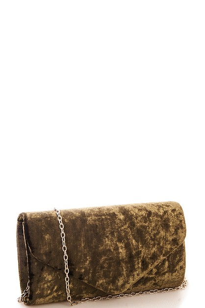 Chic Velvet Clutch - orangeshine.com