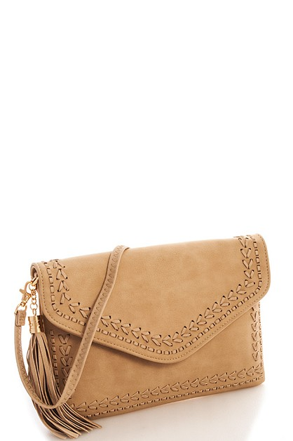 Fashion Chic Tassel Clutch - orangeshine.com