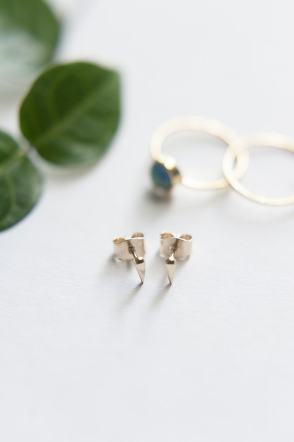 Drop Tusk Stud Earring - orangeshine.com