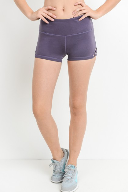 CRISS CROSS SHORTS - orangeshine.com