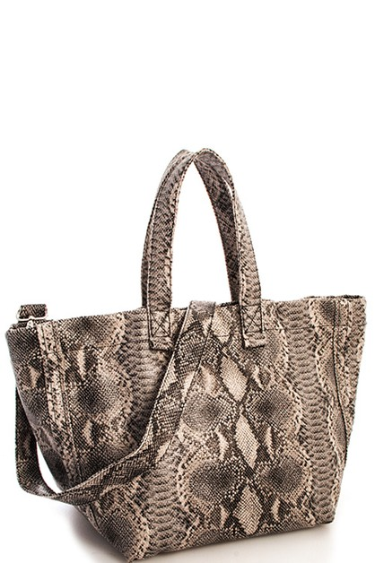 Snake Pattern Shopper - orangeshine.com