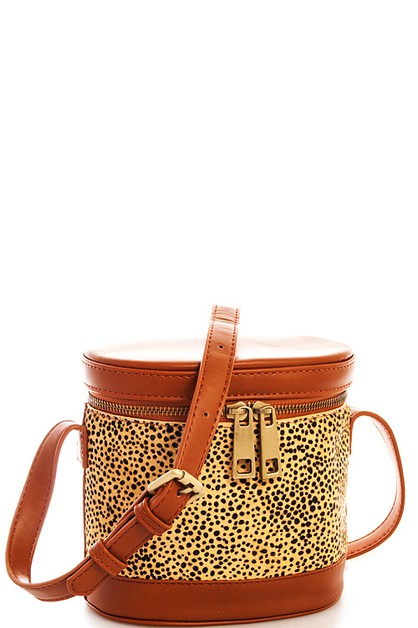 Cute Leopard Shoulder Bag  - orangeshine.com