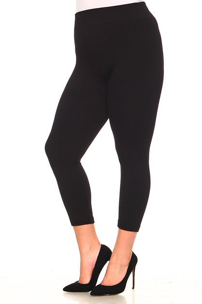 Solid leggings - orangeshine.com