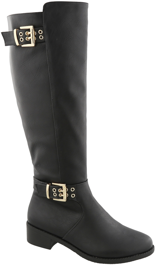 KNEE HIGH RIDING BOOT - orangeshine.com