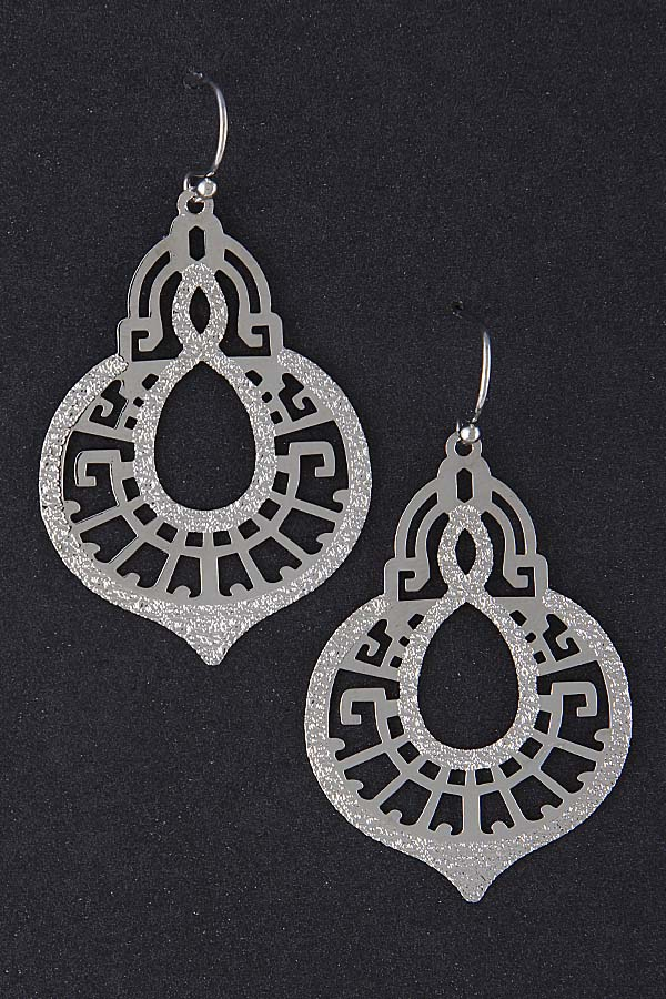 FANCY CUT EARRINGS - orangeshine.com