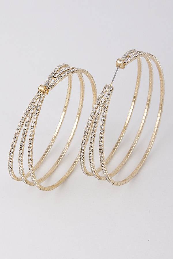 MULTI HOOP EARRINGS - orangeshine.com