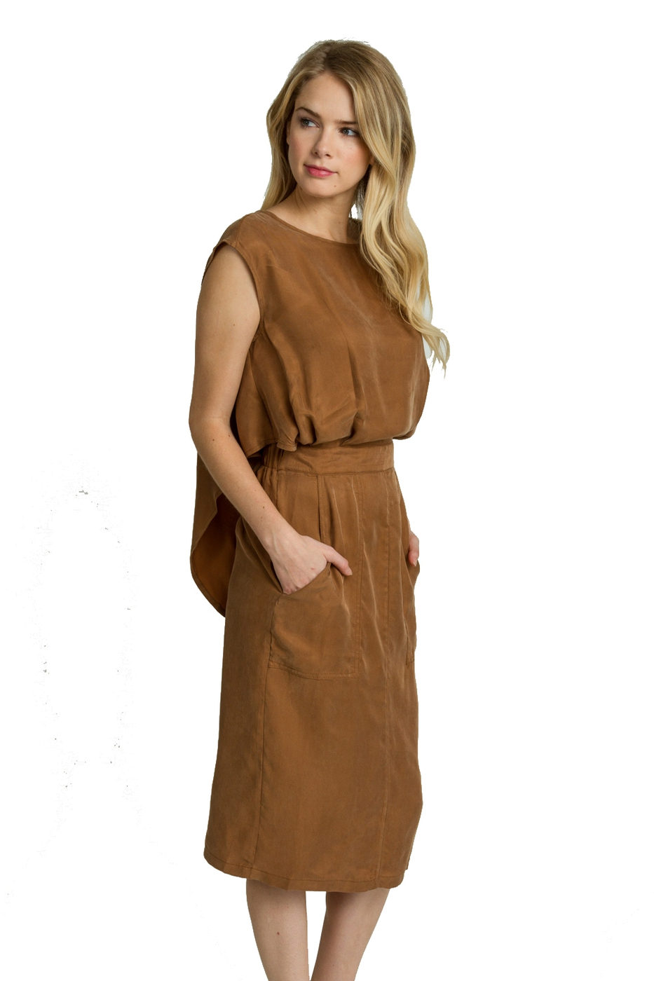 TWOFER MIDI DRESS - orangeshine.com