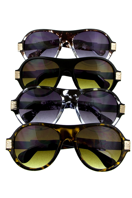 Stylish Tear Drop Aviator Sunlasses - orangeshine.com