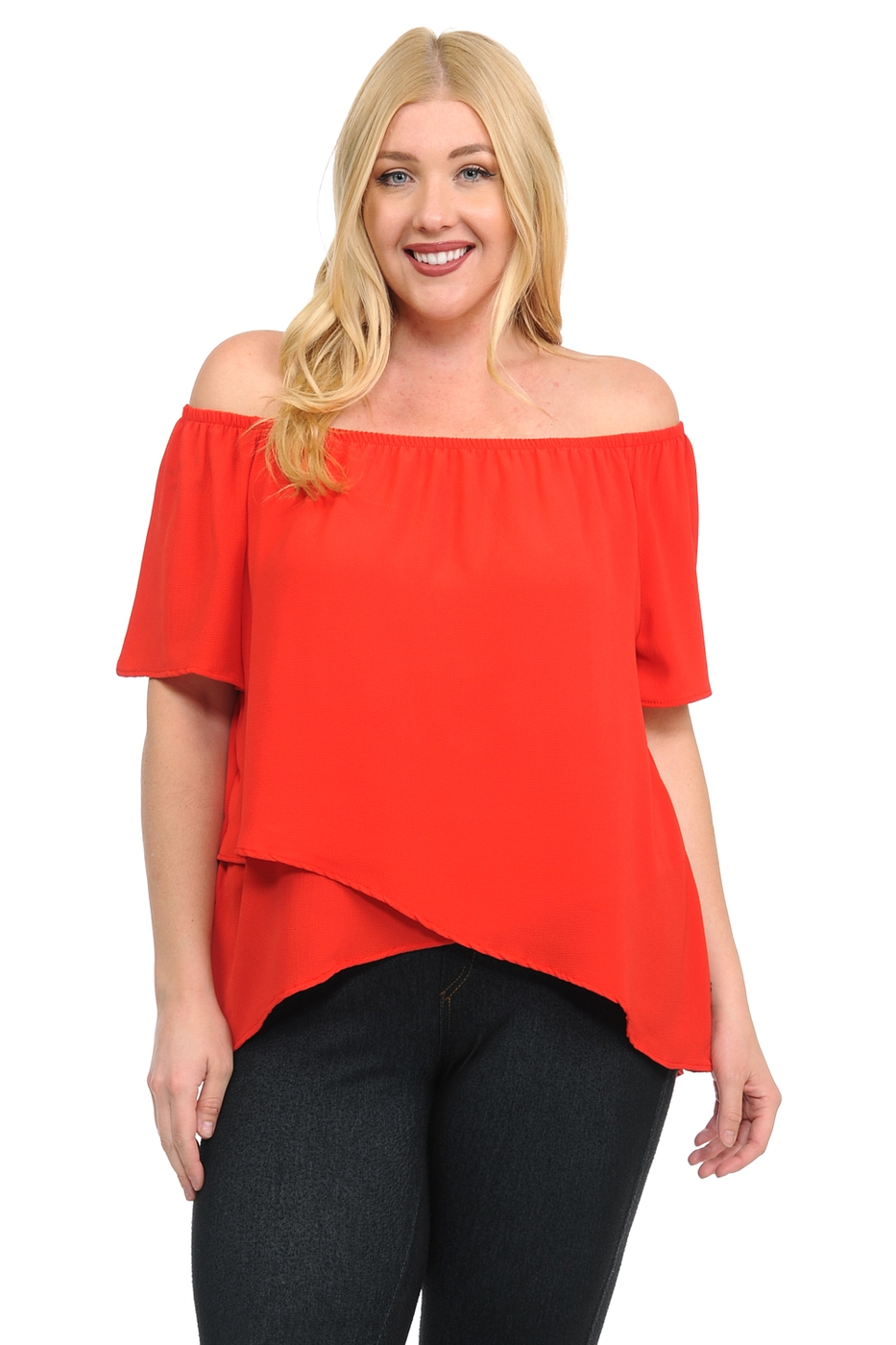 New Short Sleeve Tulip Top  - orangeshine.com
