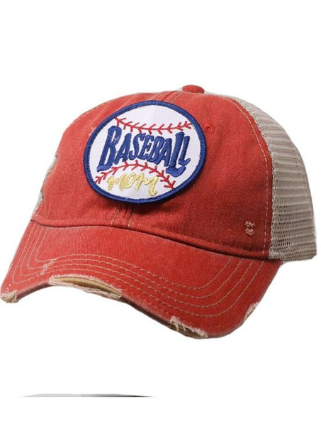 BASEBALL MOM HAT - orangeshine.com