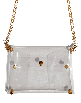 Gameday Chic Crossbody Envelope Clut - orangeshine.com