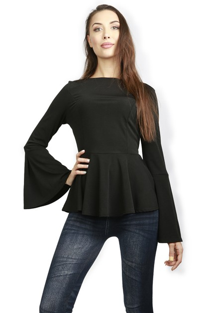 ANGEL SLEEVE TOP - orangeshine.com