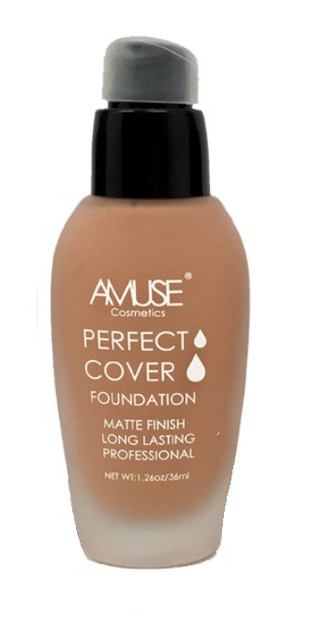 Amuse Perfect Cover Matte Foundation - orangeshine.com