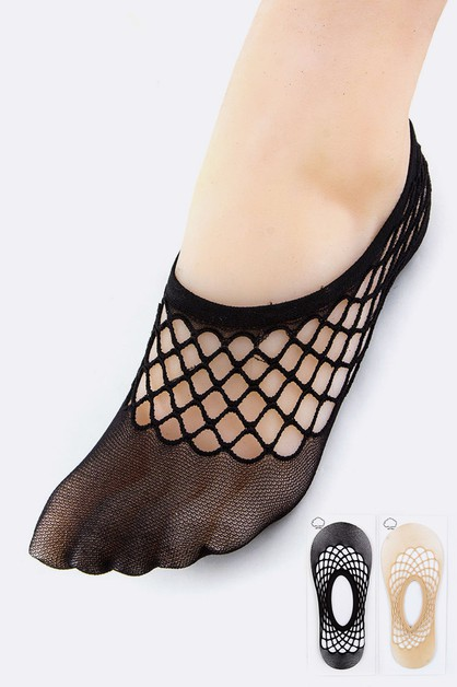 Fishnet Socks - orangeshine.com