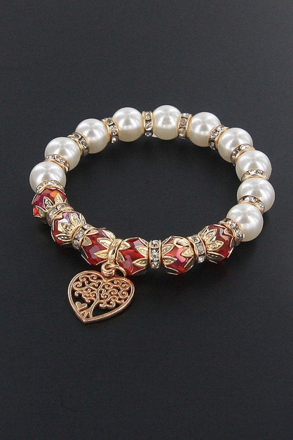 Tree of Life Charm Bracelet - orangeshine.com