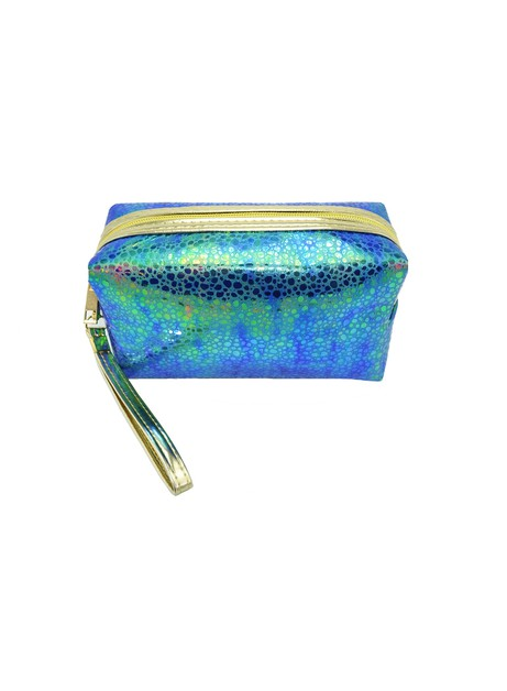 Holographic Droplet Cosmetic Pouch - orangeshine.com