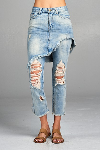 Distressed Denim - orangeshine.com