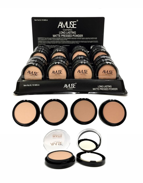 Amuse Lasting Matte Pressed Powder - orangeshine.com