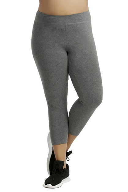 Plus size capri legging - orangeshine.com