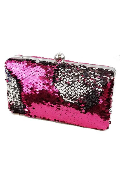 Mermaid Sequin Evening Clutch Purse - orangeshine.com