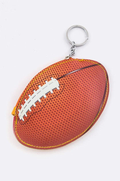 Football Coin Pouch - orangeshine.com