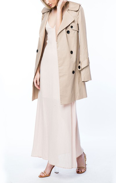 Moss Trench Coat - orangeshine.com