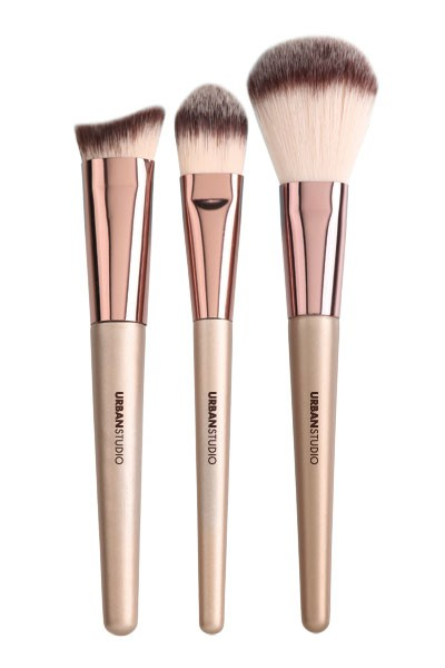 Cala Lavish Luxe Face Brush Trio Set - orangeshine.com