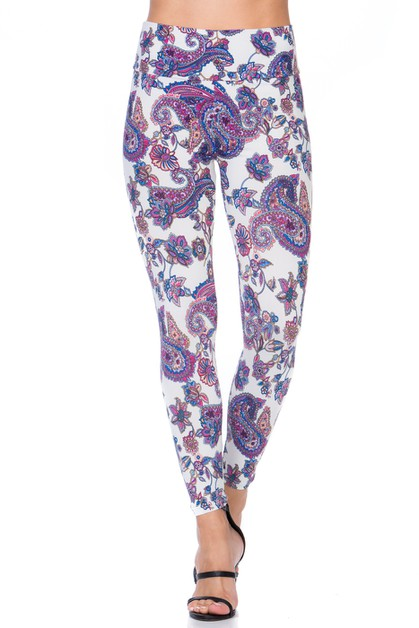 VINTAGE PRINT LEGGINGS - orangeshine.com