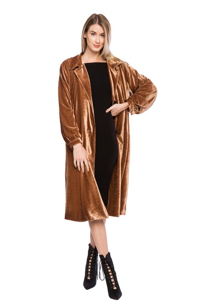 Larue Coat - orangeshine.com