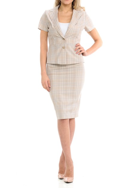 Woman Classic Wear To Work two piece - orangeshine.com