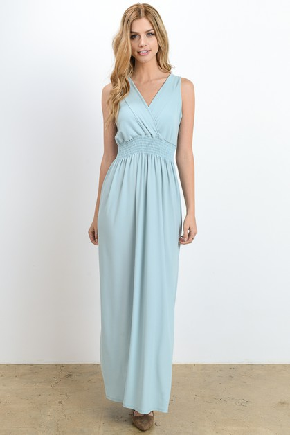 Pastel Maxi Dress - orangeshine.com