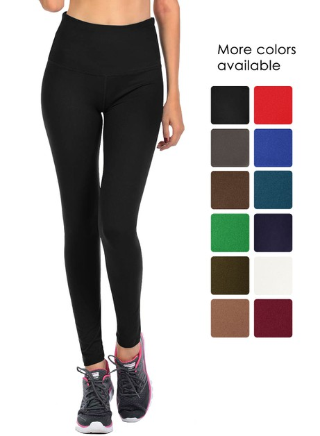 SOLID YOGA LEGGINGS - orangeshine.com
