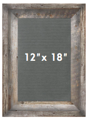 12 X 18 Farmhouse GREY - orangeshine.com