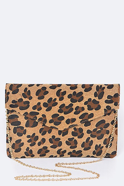 Animal Print Fashion Clutch - orangeshine.com