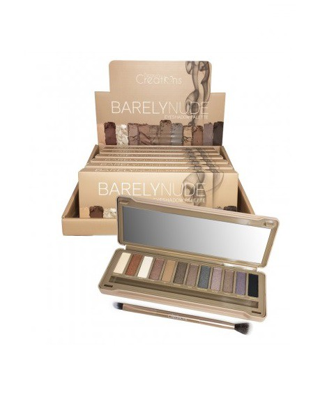 Barely Nude Eyeshadow Palette - orangeshine.com