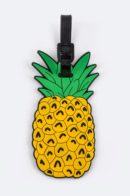 Pineapple Jelly Bag Luggage Tag - orangeshine.com