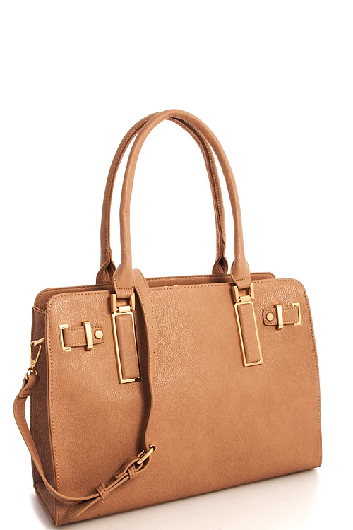 Vegan Leather Princess Chic Satchel  - orangeshine.com