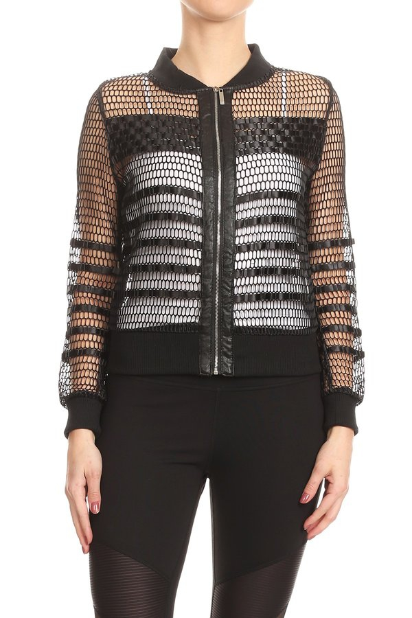 FishNet Jacket - orangeshine.com