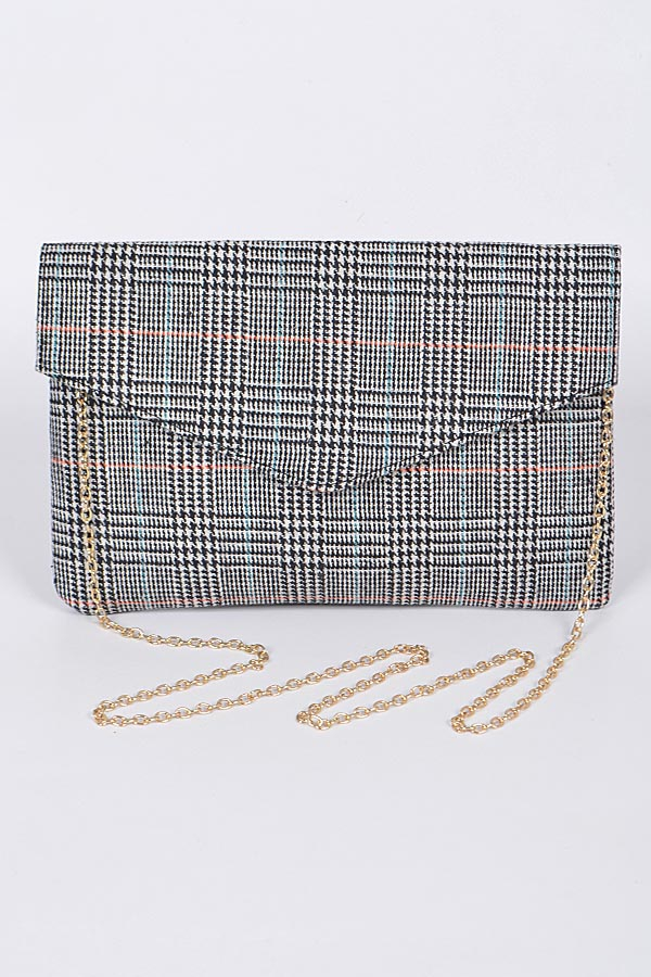 YOUR ENVELOPE CLUTCH WITH CHAIN - orangeshine.com