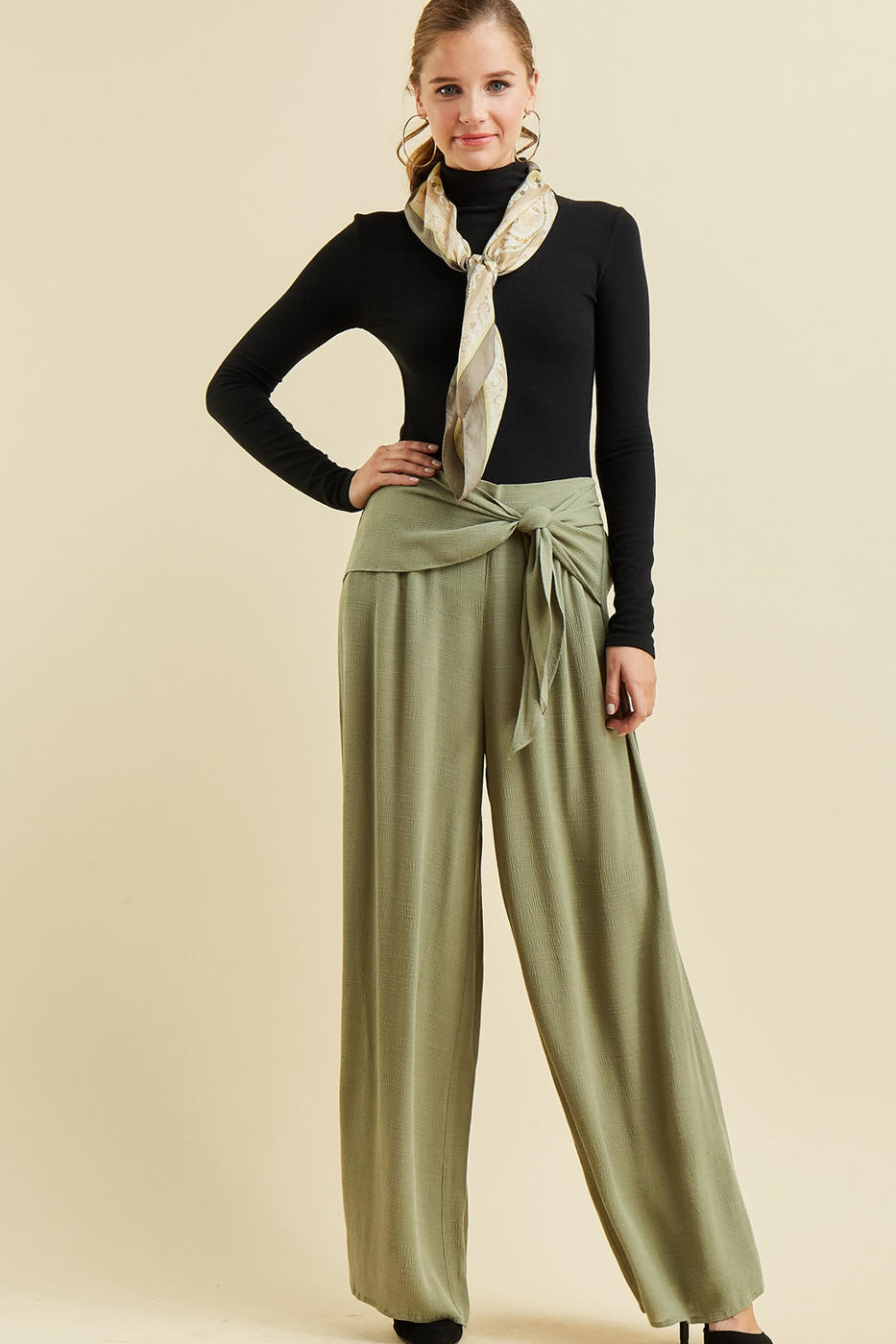 High-waist pants - orangeshine.com
