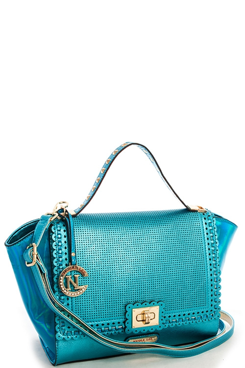 Nicole Lee HOLOGRAM HANDBAG - orangeshine.com