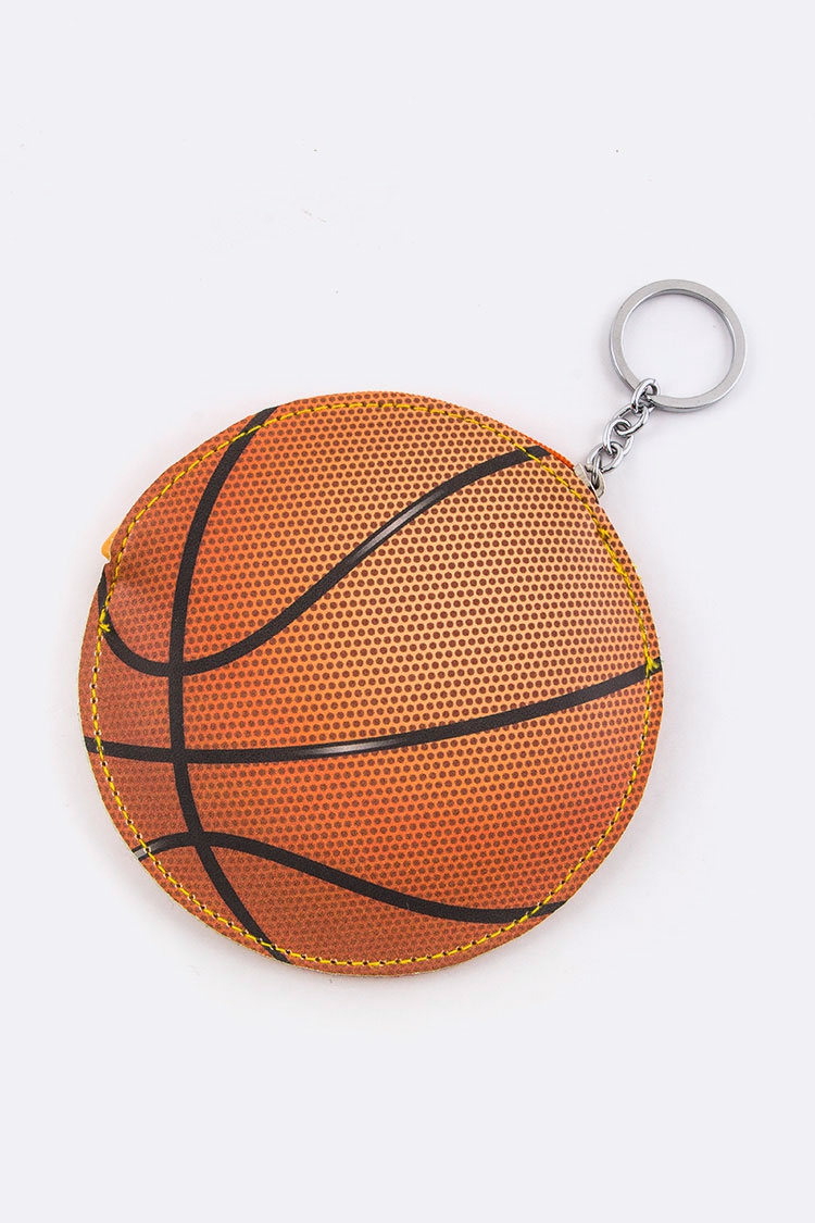 Basketball Coin Pouch - orangeshine.com