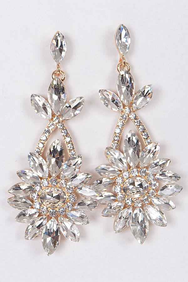 CROWN JEWEL EARRINGS - orangeshine.com